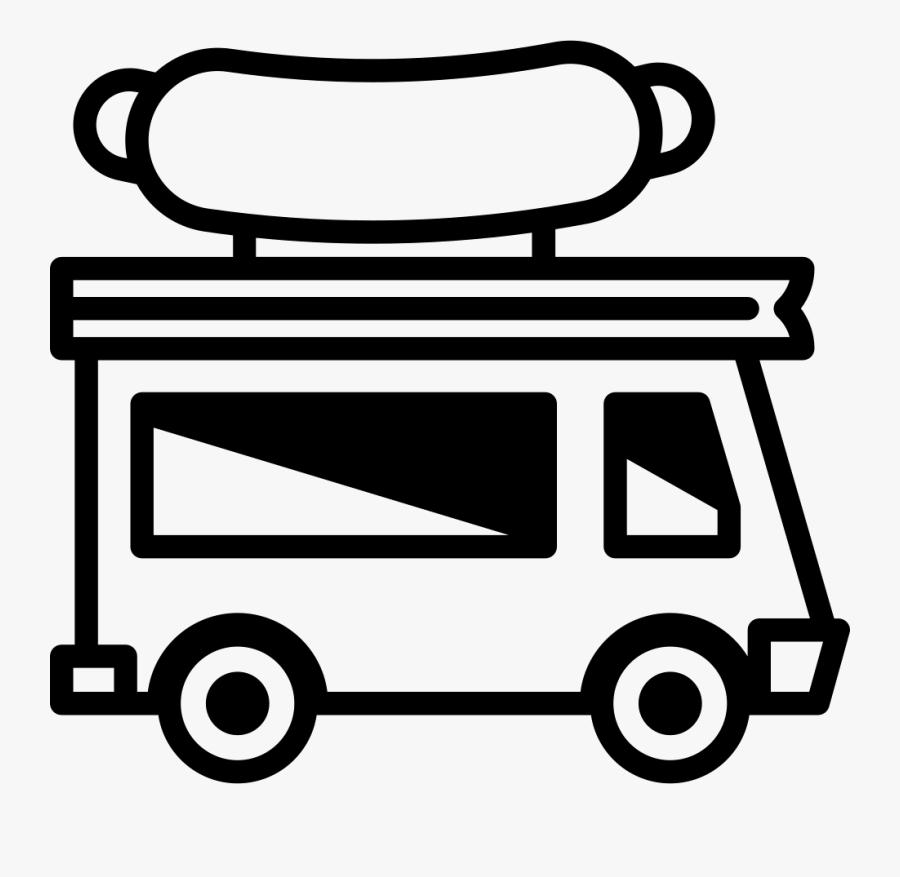 Food Truck Comments - Logo Vector Food Truck, Transparent Clipart