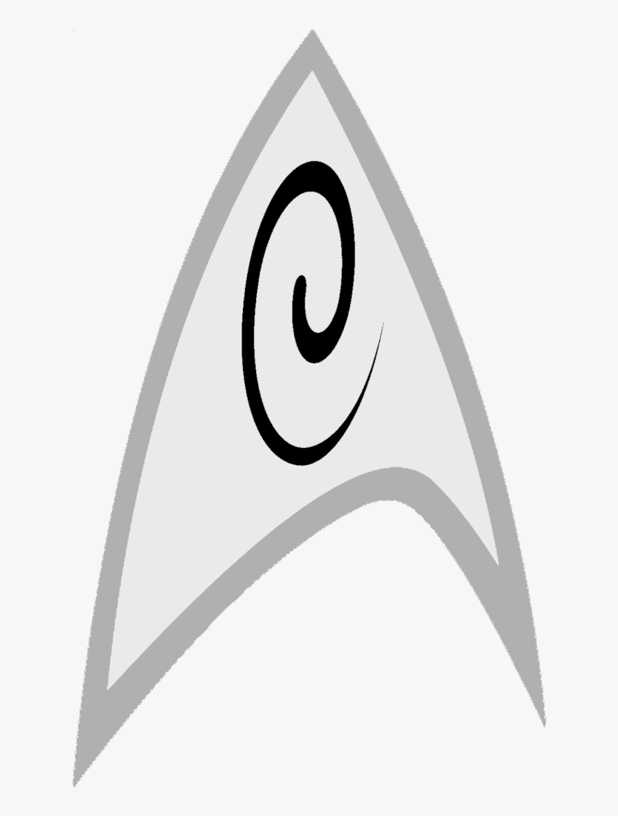 Transparent Star Trek Clipart - Star Trek Engineer Logo, Transparent Clipart