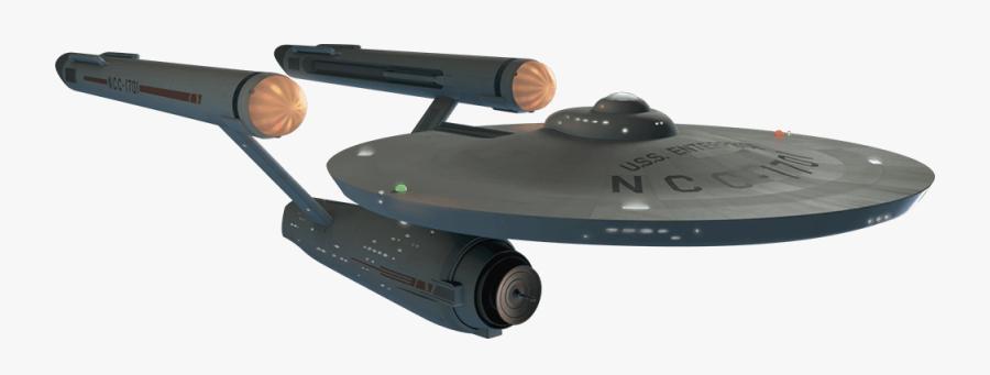 Star Trek Enterprise Ship Png, Transparent Clipart