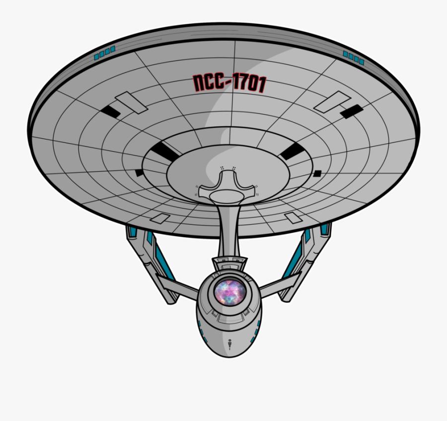 Starship Enterprise Star Trek Poster Uss Enterprise - Uss Enterprise Star Trek Clipart, Transparent Clipart