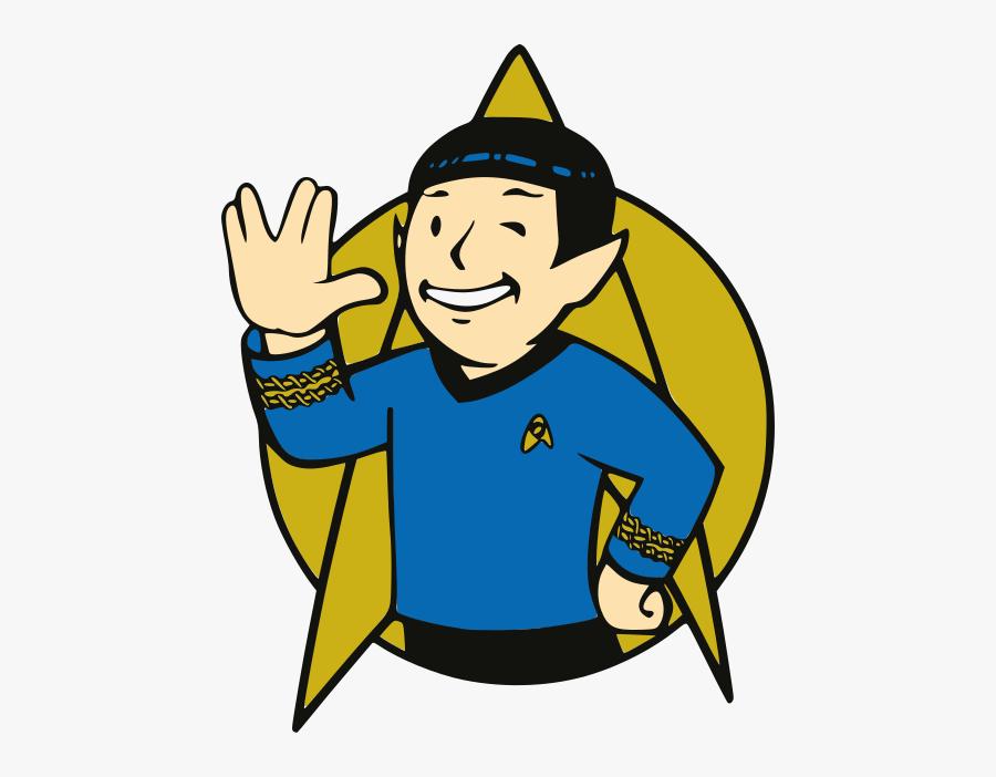 Star Trek Spock Fallout, Star Trek Spock Fallout - Star Trek Clipart, Transparent Clipart