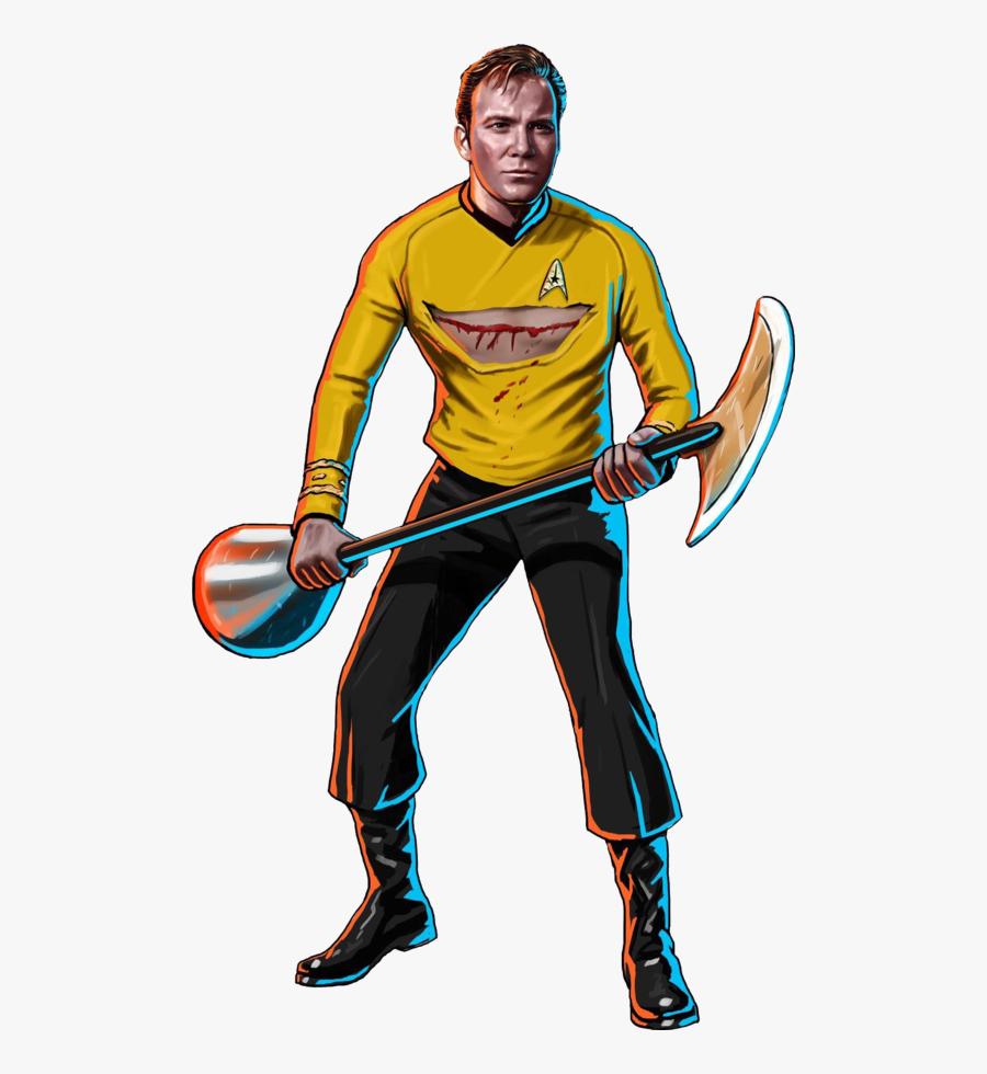 Original Kirk Star Trek, Transparent Clipart