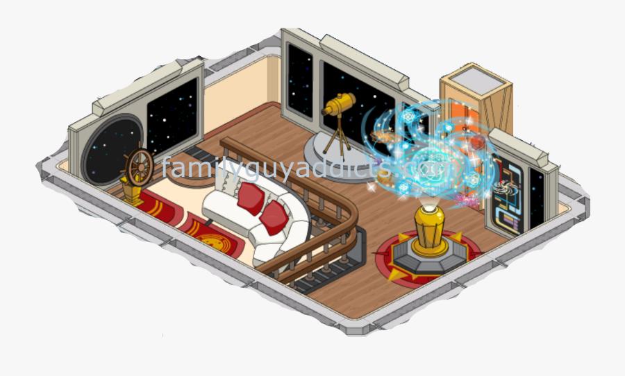 Transparent Star Trek Clipart - Observation Lounge Enterprise D, Transparent Clipart