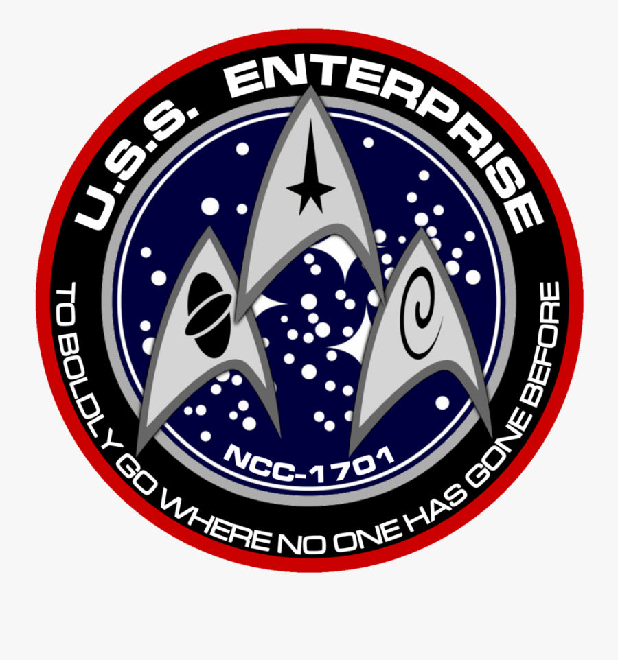 Transparent Star Trek Enterprise Png - United Federation Of Planets, Transparent Clipart