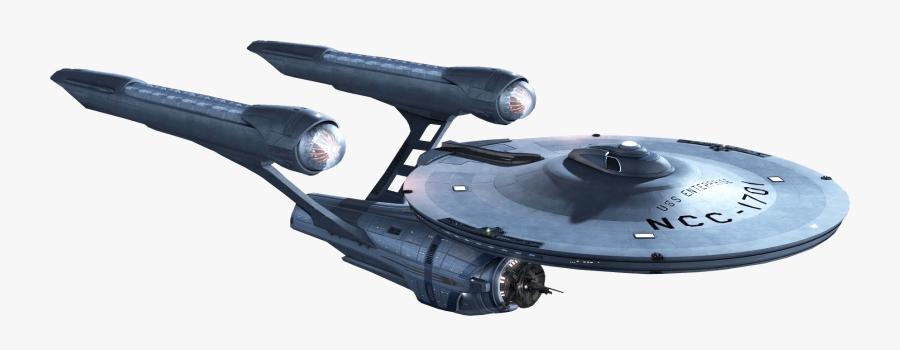 Starship Enterprise - Star Trek Enterprise Transparent, Transparent Clipart