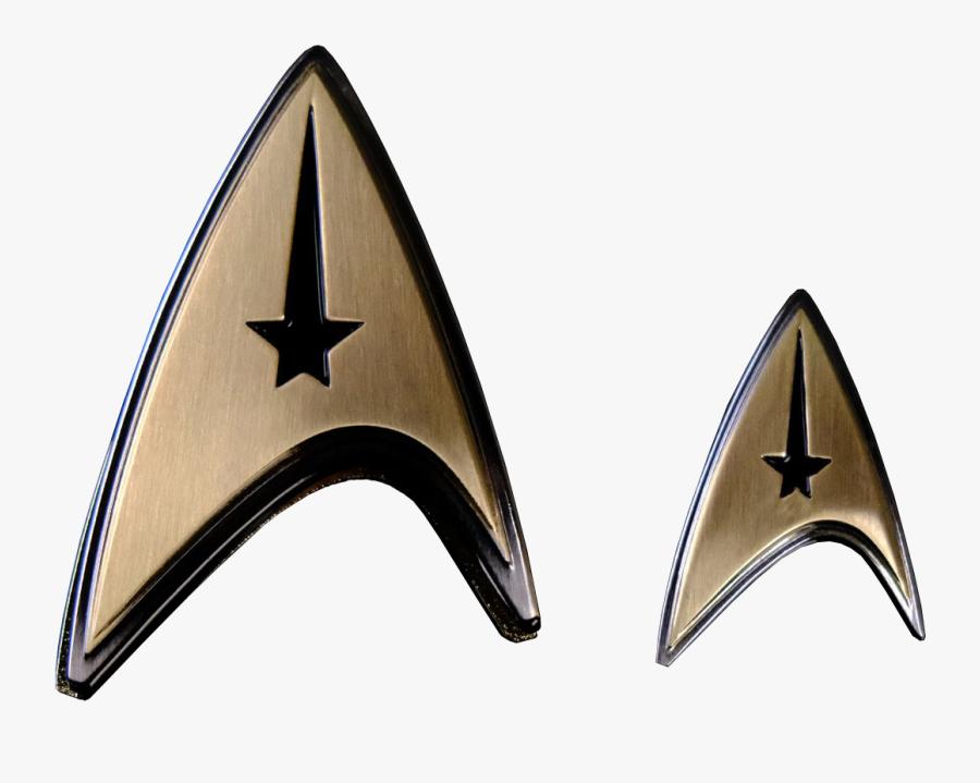 Star Trek Discovery Enterprise Badge, Transparent Clipart