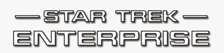 Star Trek Enterprise Title, Transparent Clipart