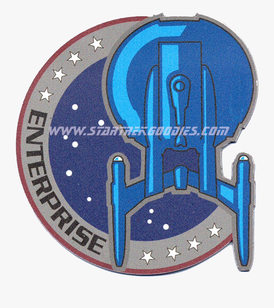 This Unique Star Trek - Star Trek Enterprise Badge, Transparent Clipart