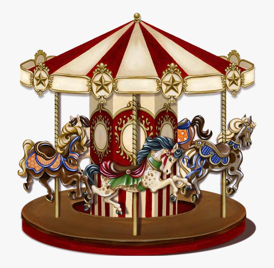 Merry Go Round Png, Transparent Clipart