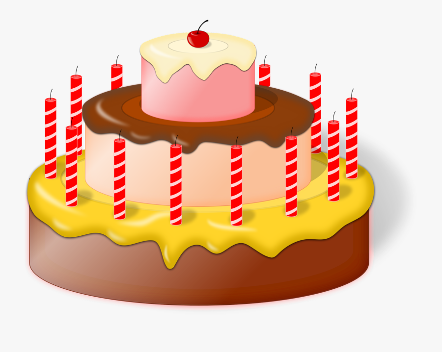 Gateau Clipart 12 Birthday Cake Png Free Transparent Clipart Clipartkey