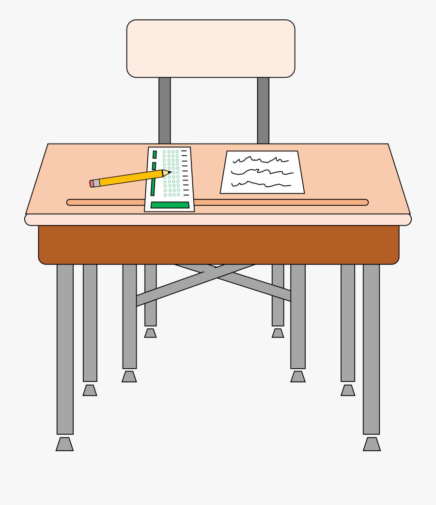 Free Student Desk Clip Art - Desk Clipart, Transparent Clipart