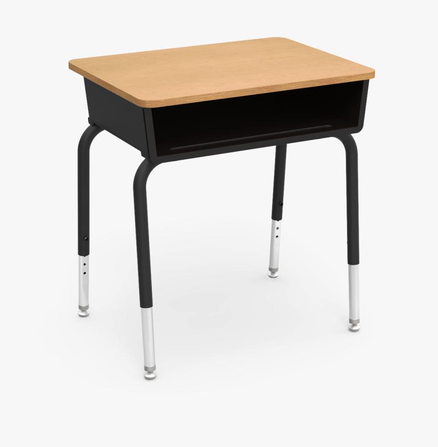 Desk Png - School Desk, Transparent Clipart