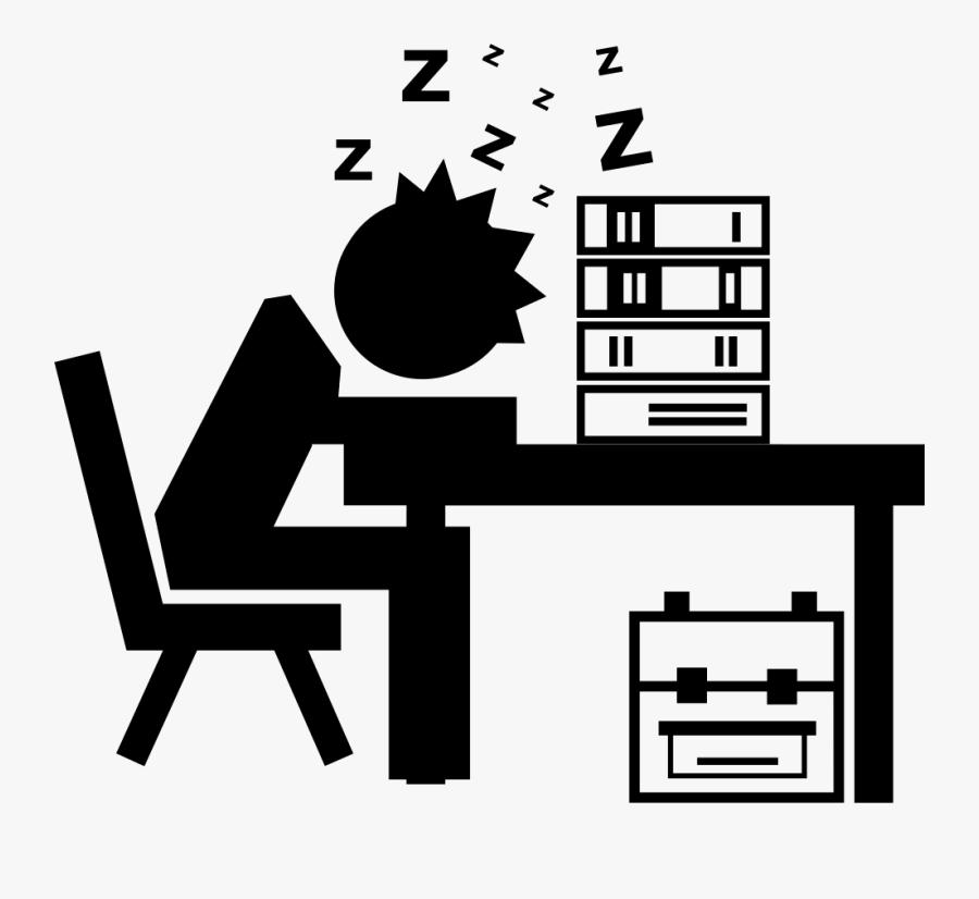 Black Line Background clipart - Student, Sleep, Text, transparent clip art