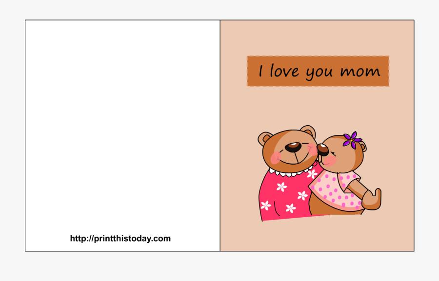 foldable happy birthday mom printable cards  free