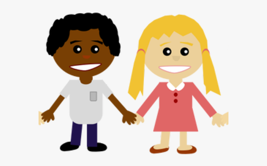 Children Holding Hands Clipart - Friends Holding Hands Clipart, Transparent Clipart