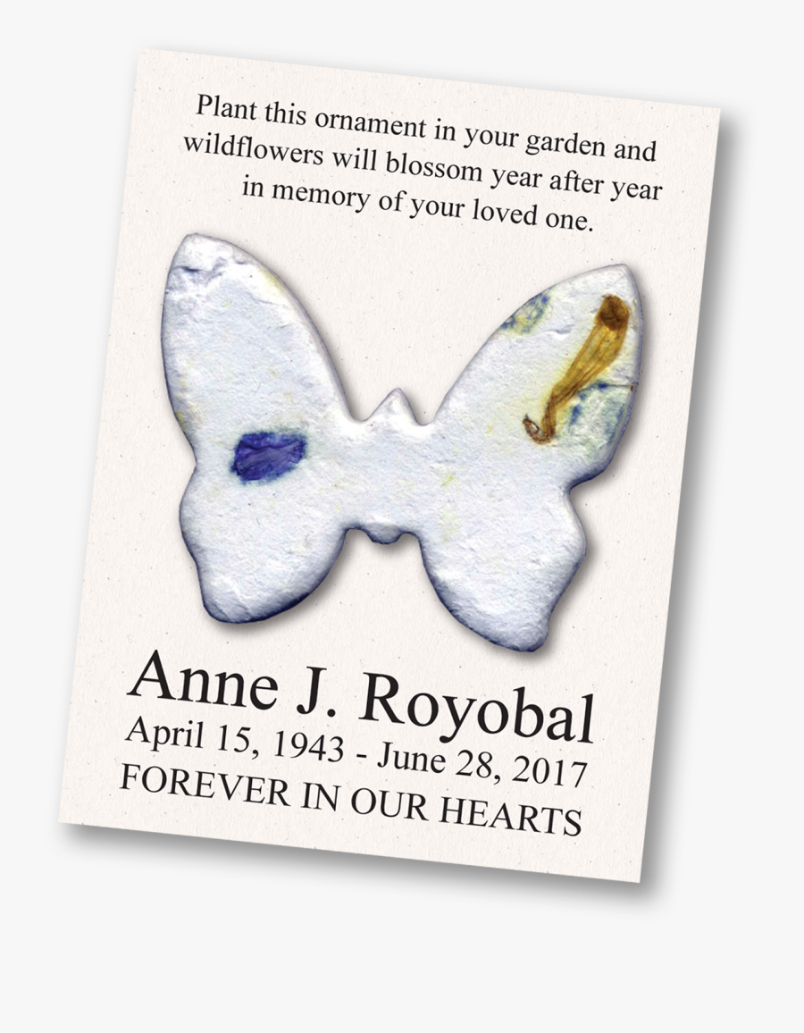 Transparent In Loving Memory Clipart - Swallowtail Butterfly, Transparent Clipart