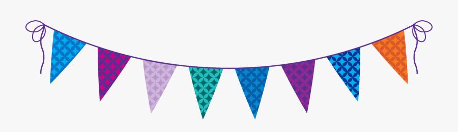 Festival Clipart Triangle Banner - Australia's Biggest Morning Tea Banner, Transparent Clipart