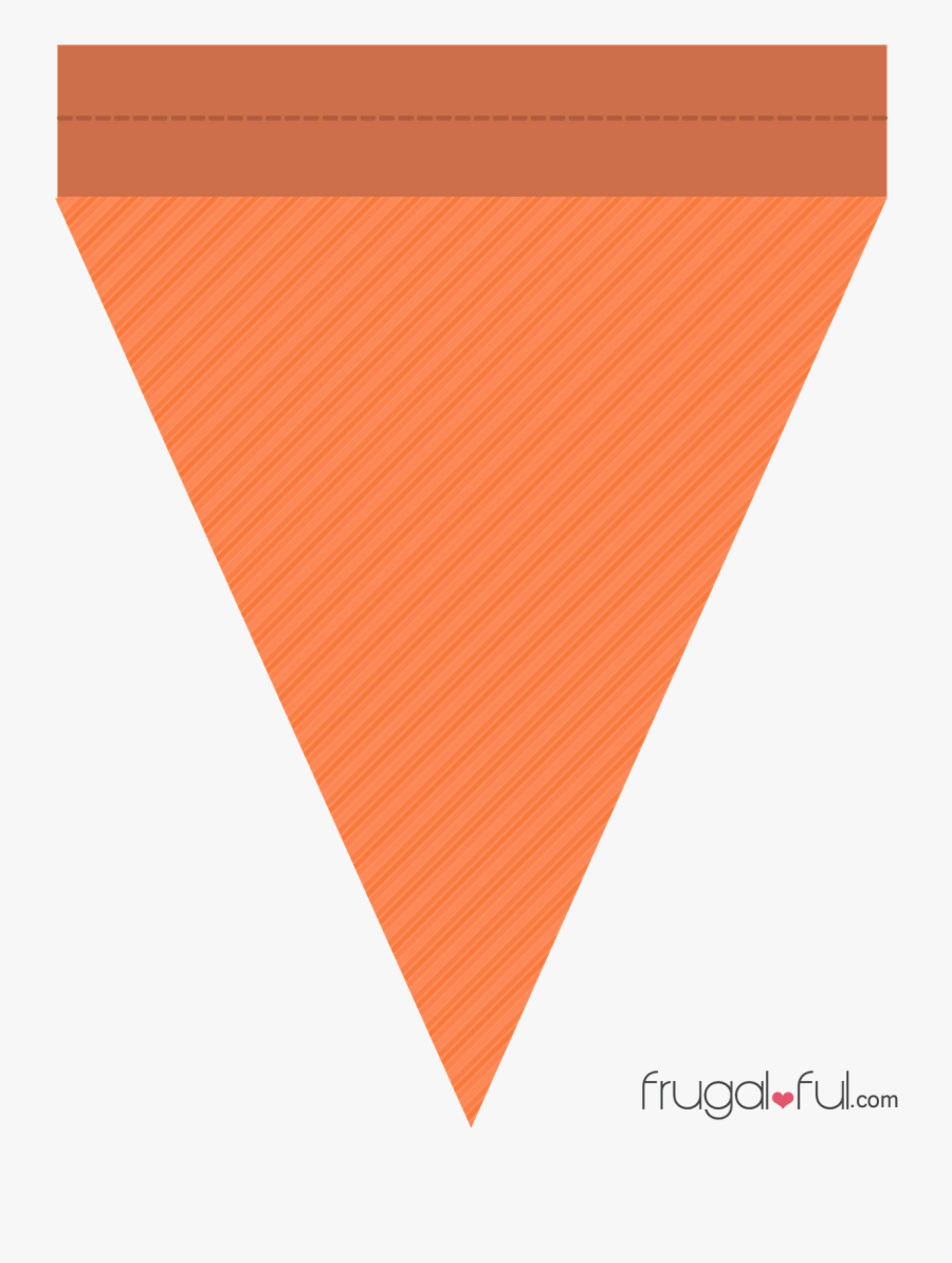 Free Printable Triangle Banner - Flag Banner Printable Clipart, Transparent Clipart
