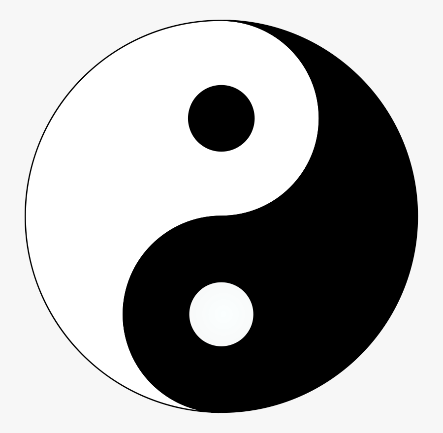 Yin And Yang Png, Transparent Clipart