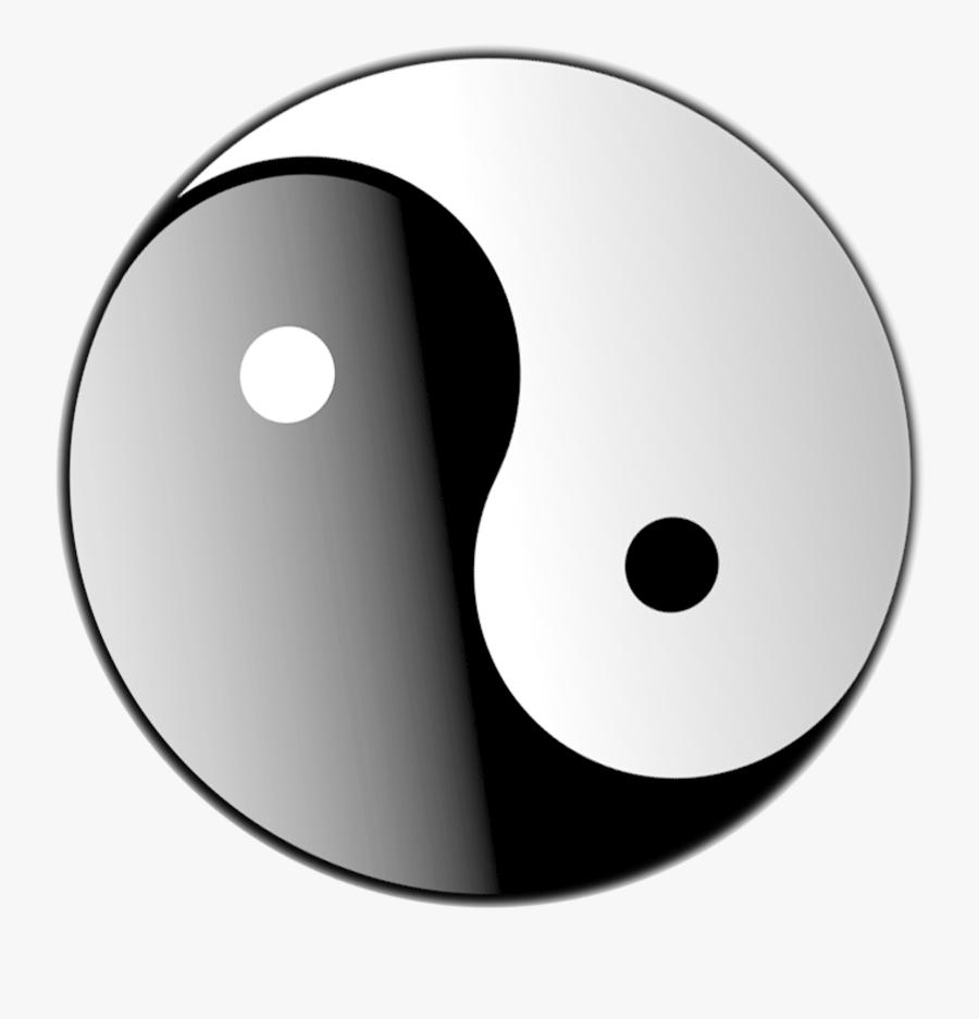 Yin Yang Logo Clipart - 3d Yin Yang Png, Transparent Clipart