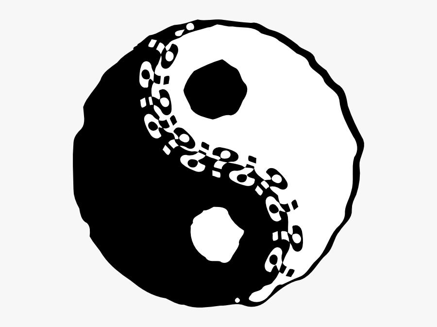 Free Vector Jin Jang Yin Yang Clip Art - Yin Yang, Transparent Clipart