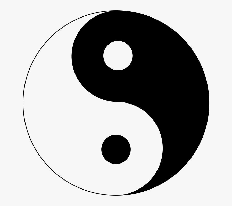 Yin Yang, Asian, Harmony, Symbol, Culture, Chinese - Taoism Symbol, Transparent Clipart