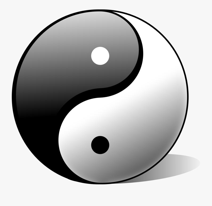 Tai Chu Yin Yang - Symbole Yin Et Yang, Transparent Clipart