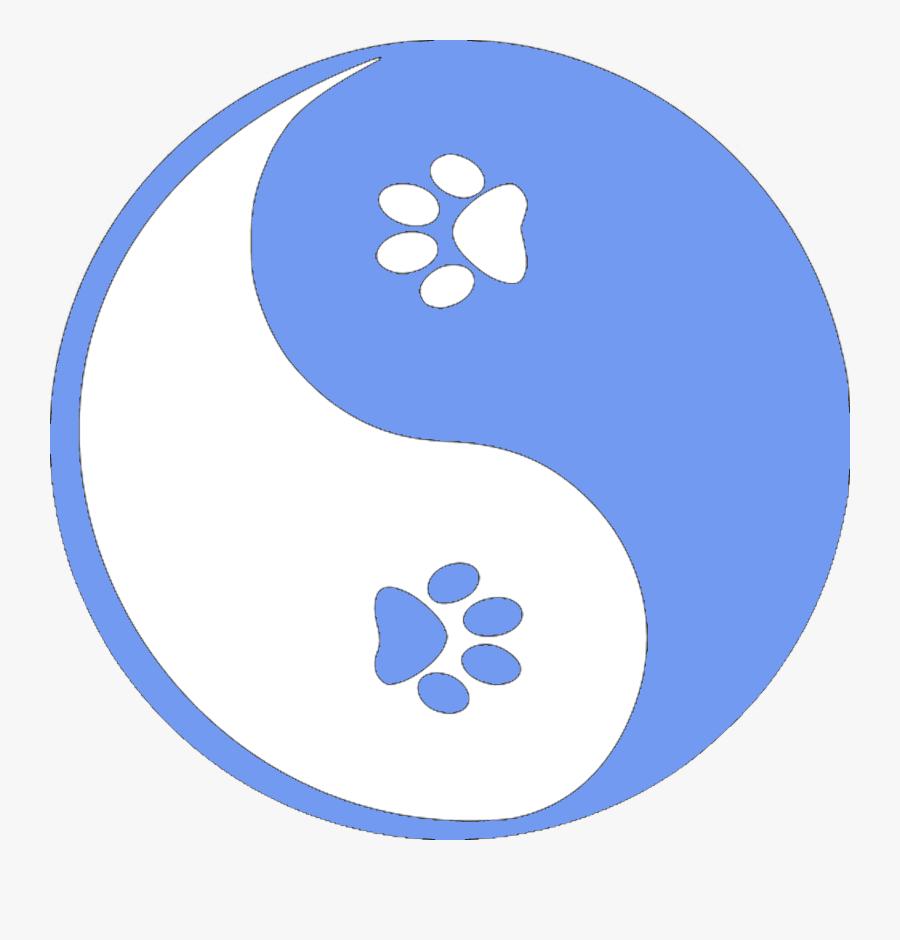 Yin Yang Blue White, Transparent Clipart