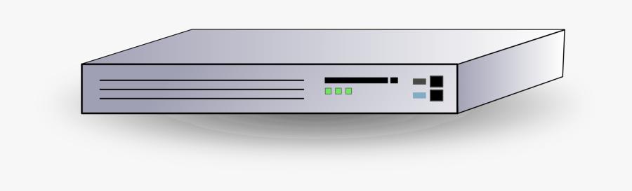 Computer Accessory - Network Router Clip Art, Transparent Clipart