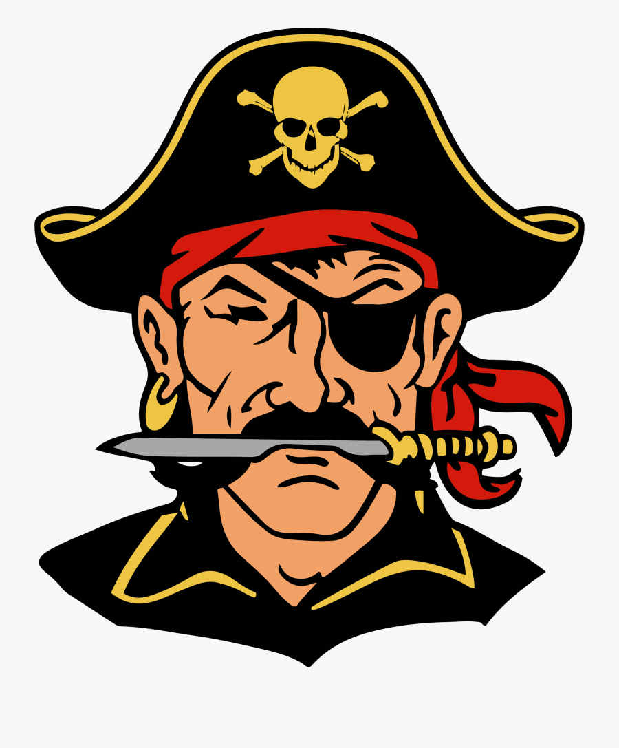 Return Home - Winfield City High School Pirates Logo, Transparent Clipart