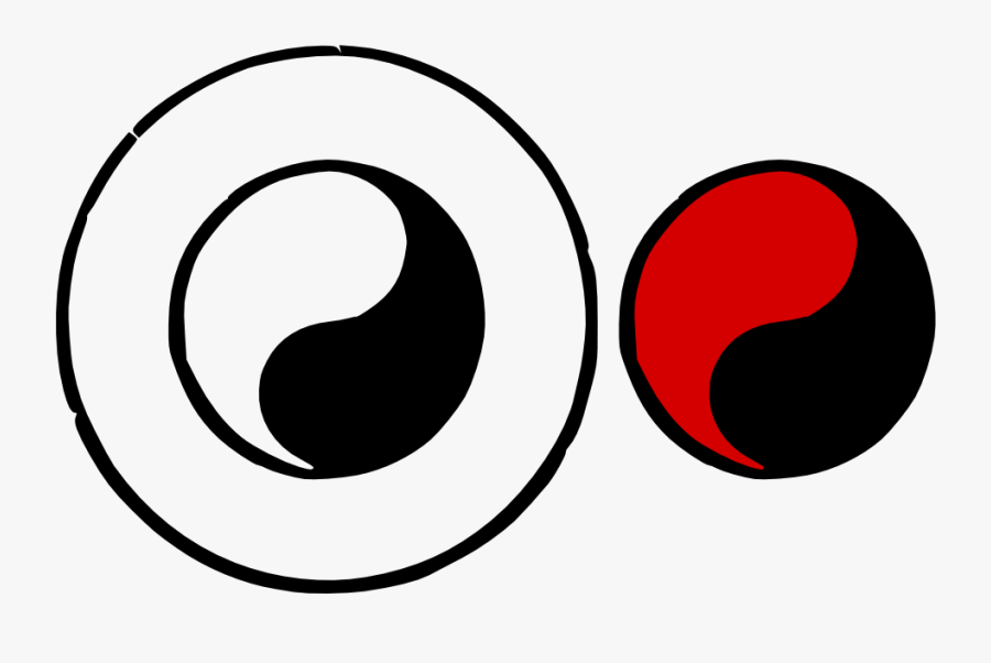 Tai Chi Tao Symbol By Mondspeer On Clipart Library, Transparent Clipart