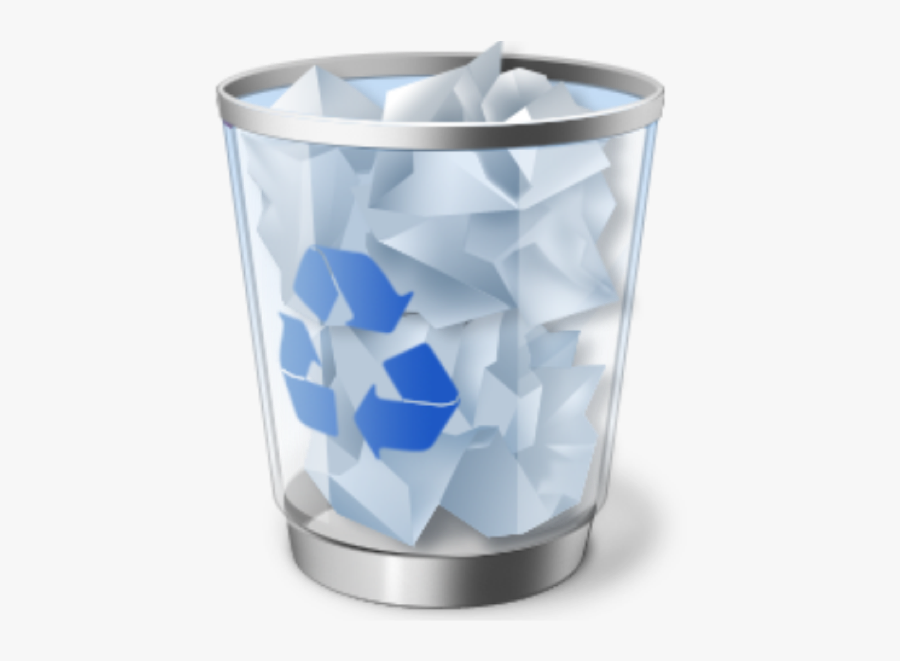 Recycling-bin - Recycle Bin Icon In Computer, Transparent Clipart