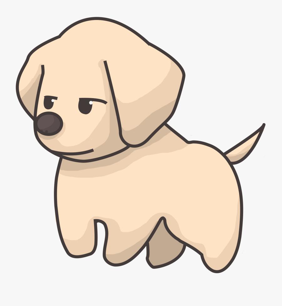 Labrador Retriever Png - Golden Retriever Puppy Cartoon, Transparent Clipart