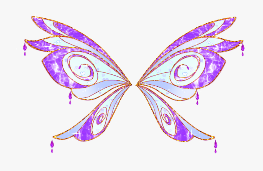 Butterfly Clipart Enchanted - Winx Serena Bloomix, Transparent Clipart