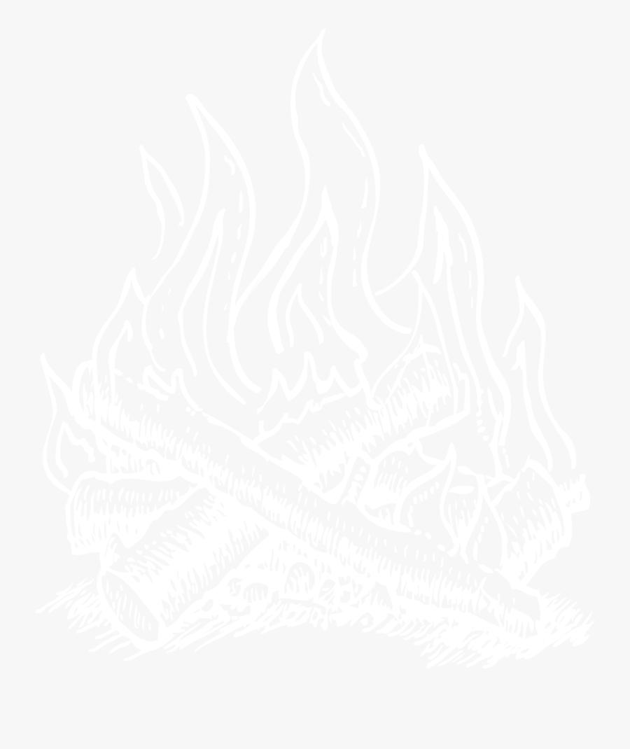 Campfire Illustration- - Illustration, Transparent Clipart
