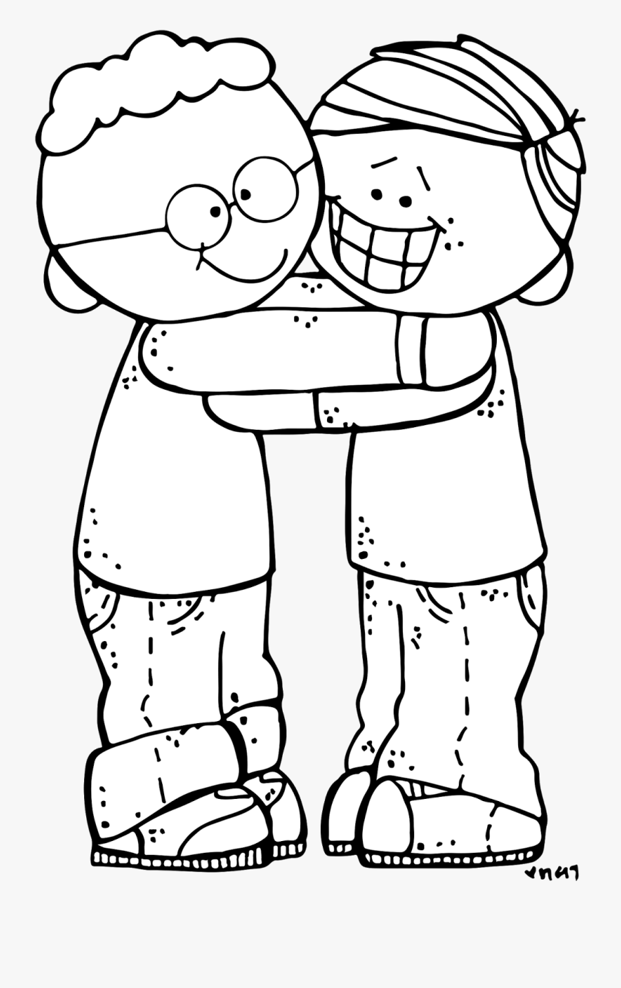 Forgiveness Clipart Love Thy Neighbor - Cartoon, Transparent Clipart