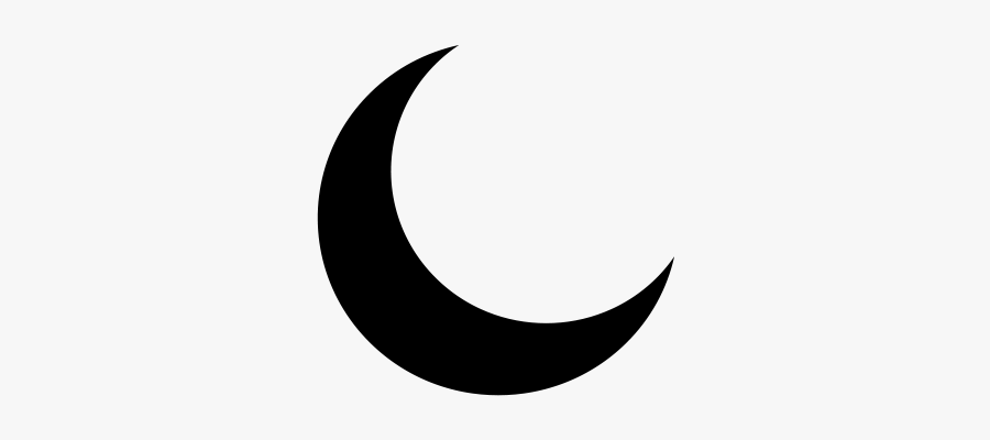 Collection Of Free Moon Vector Half - Moon Black Png, Transparent Clipart