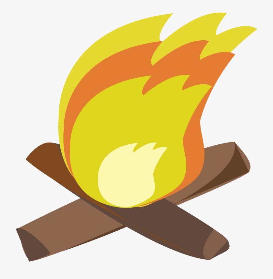 Campfire Clipart - Campfire, Transparent Clipart