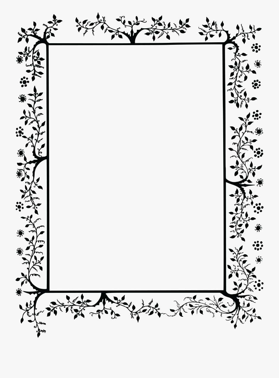 Free Clipart Of A Decorative Border - Vintage Decorative Border Clip Art, Transparent Clipart