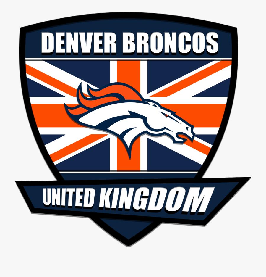 Denver Broncos Uk Logo - Denver Broncos, Transparent Clipart