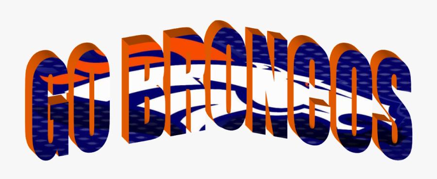Go Broncos, Transparent Clipart