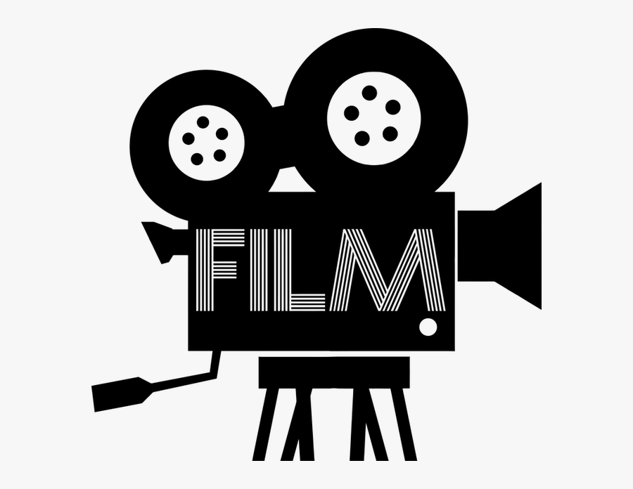 Old Fashioned Movie Camera Clipart, Transparent Clipart