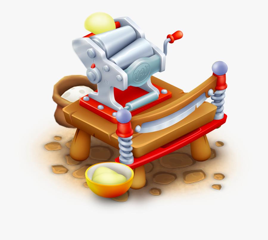Pasta Clipart Rice Pasta - Hay Day Pasta Maker, Transparent Clipart