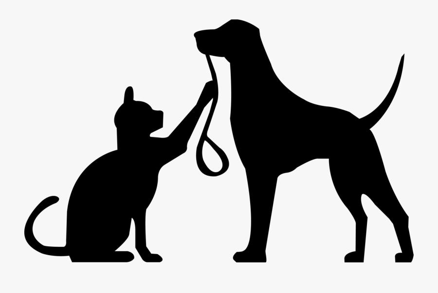 Companion Pet Care Hospital - Dog And Cats Logo Website, Transparent Clipart