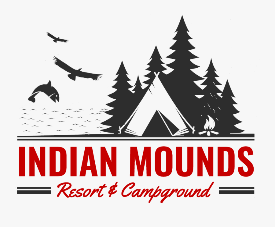 Indian Mounds Resort Campground Summer Camp Vector Free Transparent Clipart Clipartkey