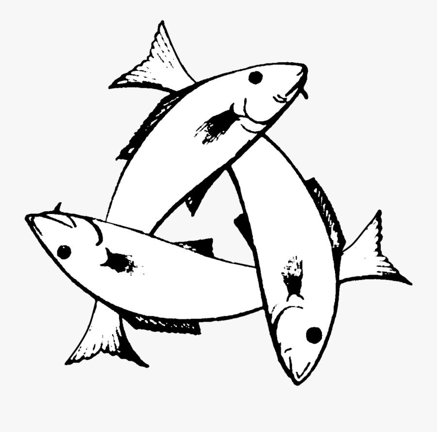 Three Fish Symbol Meaning, Transparent Clipart