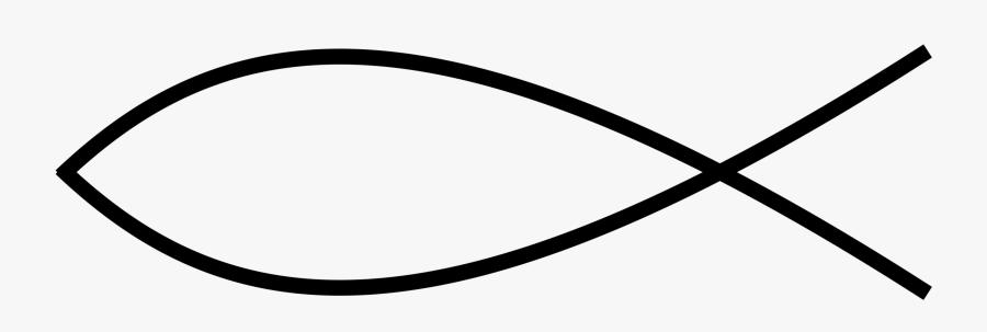 Angle,area,symbol - Christian Fish Clip Art, Transparent Clipart