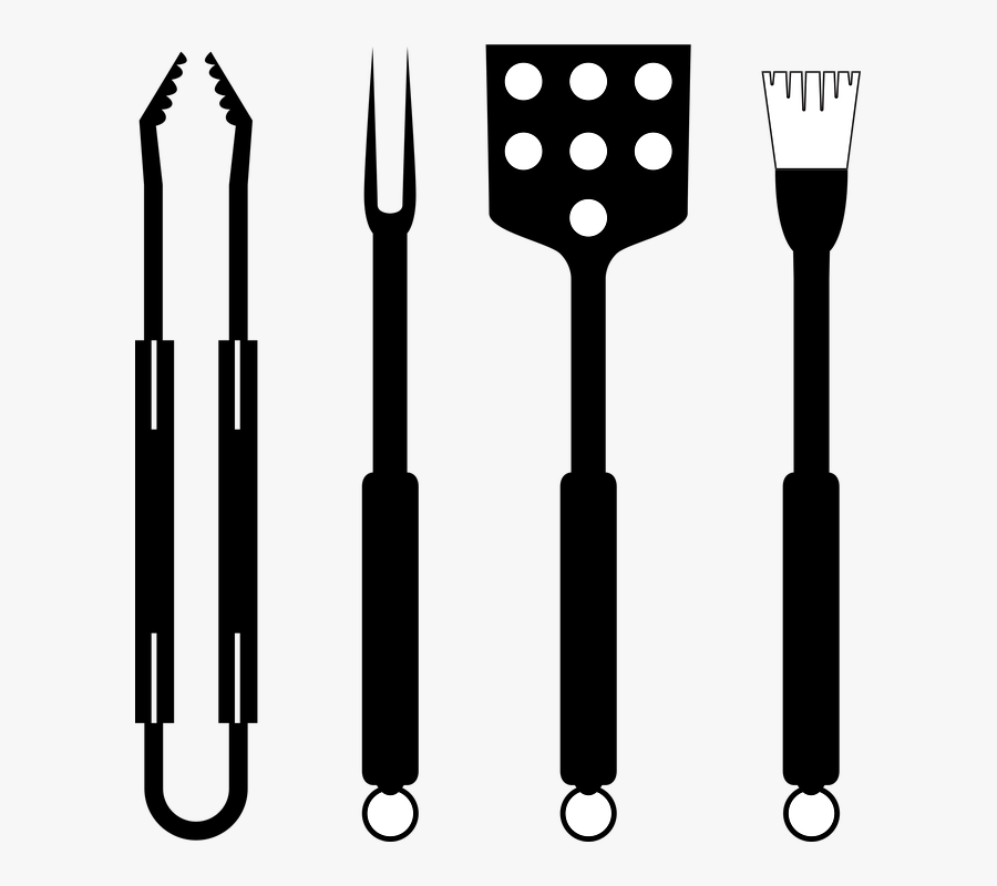 Bbq, Barbeque, Barbecue, Grill, Grilling, Cooking - Pinzas Grill Png, Transparent Clipart