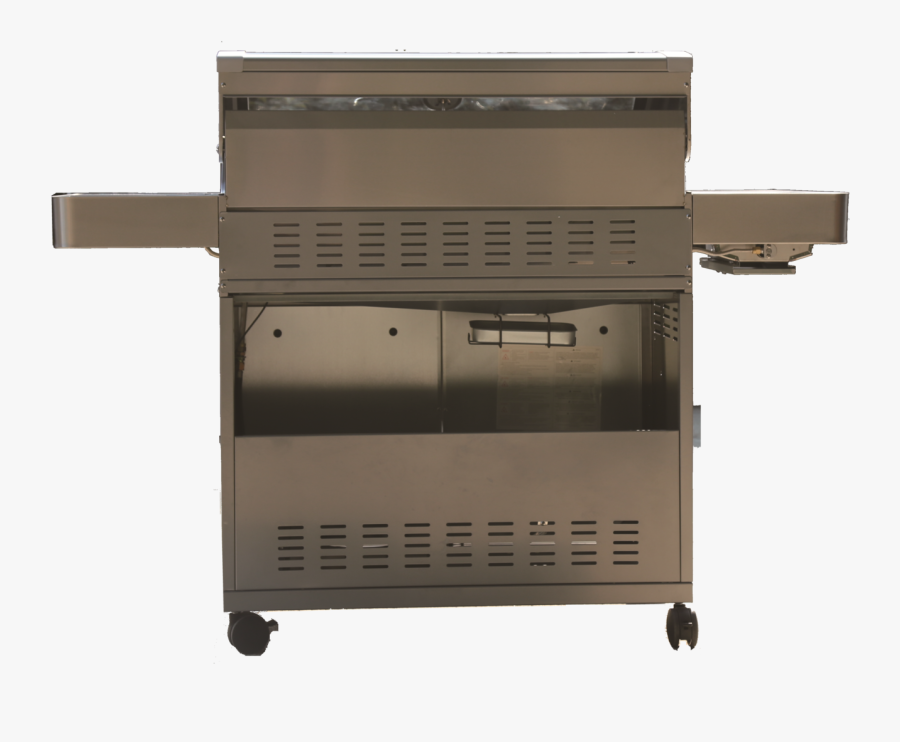 Transparent Bbq Grill With Fire Clipart - Barbecue Grill, Transparent Clipart