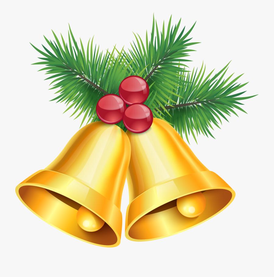 Ornaments Clipart Jingle Bells Golden Bells Png Free Transparent Clipart Clipartkey